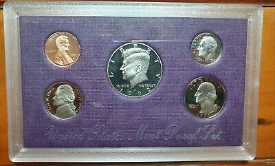 United States Mint Proof Coin Set 1992