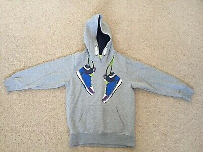 Boys Blue Zoo Sweatshirt, Age 7-8 Years.