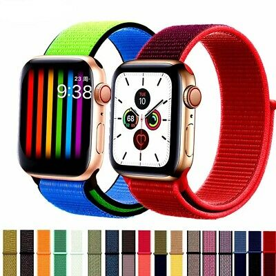 Compatible with Apple Watch band 44mm/40mm Sport loop band 5 42mm 38mm