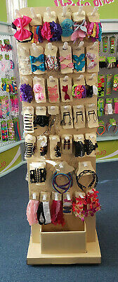 JOBLOT - CLEARANCE Pre loaded display stand Hair accessories mixed.532pcs