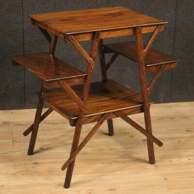 Small Table Furniture Living Room of Design Wooden Style Vintage Bedside 900
