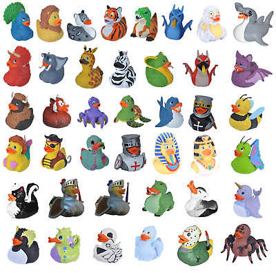 Wild Republic 10cm Novelty / Collectable Rubber Ducks 27 Duck Designs To Choose