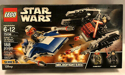 Sealed LEGO Building Set TIE Silencer #75196 A-Wing vs Star Wars Micro
