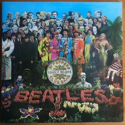 The Beatles Sgt Pepper's Stereo Vinyl LP Excellent Original Condition YEX 637/8