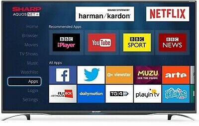 "Sharp 40"" LED Smart TV Full HD 1080p With Freeview HD, Netflix & PVR"