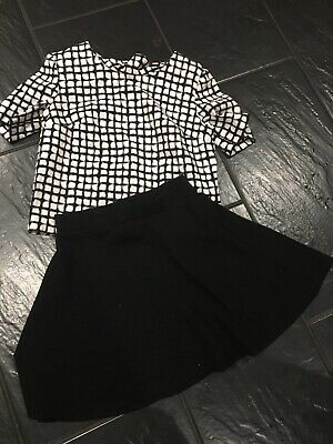 Next Lovely Girls Trendy Skirt&Top Age 14 Years