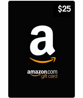 $25 Amazon Gift Card – Free Fast Shipping