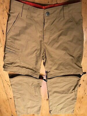The North Face 'Zipped' Walking Trousers / Shorts Boys age 7/8 - Great Quality!