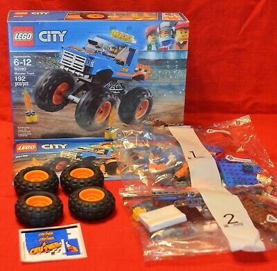 Lego City 60180 Monster Truck Complete In Open Box