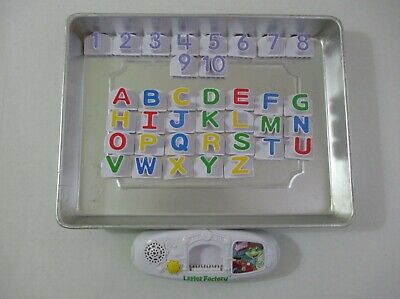 Leap Frog Letter Factory Phonics Learning System #19211 Alphabet + Numbers Euc