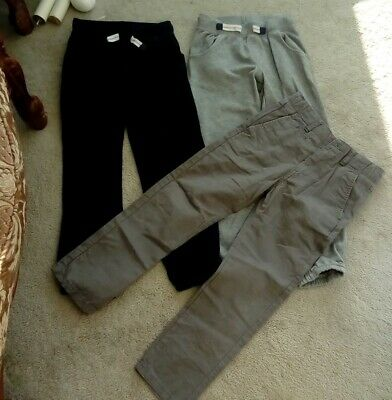 Bundle  Tracksuit bottoms joggers & Chino jeans - AGE 6 - 7 years - good conditi