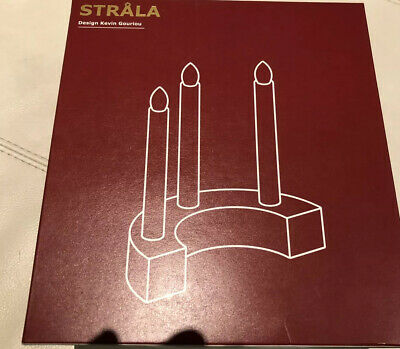 Ikea Strala Candelabra Christmas Light LED 7 Arm Johan Kroon 19962 White Corded
