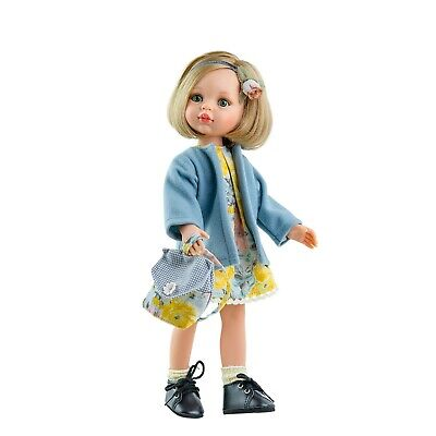 Paola Reina Doll Carla 32cm Vanilla Scented Gift Boxed New 04416