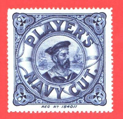 GREAT BRITAIN - CIRC 1930s - PLAYER'S NAVY CUT - RARE  ADVERTISING  LABEL - MNH