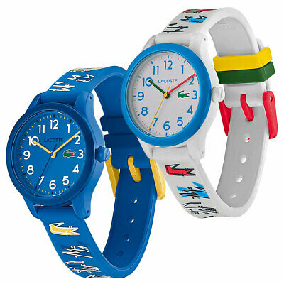 Lacoste .12.12 Kids Quartz Silicone Strap Water Resistant Watch