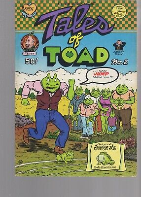 Tales Of Toad 2  ( 1971 Ao )  Print Mint  Underground Comic