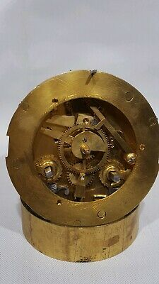 Antique French Clock Striking Movement-- Serviced Working Order  (K)