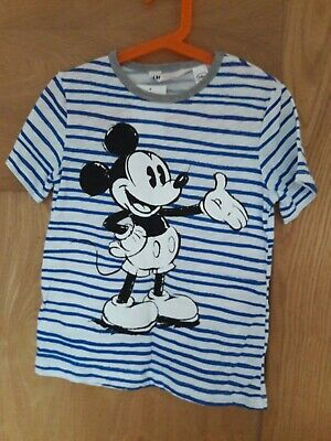 Mickey Mouse Boys T-shirt 4-6 Years. H&M Brand New With Tag