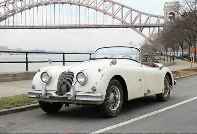 1958 Jaguar XK150 3.4 Roadster project.