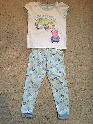 Girls Age 3-4 Peppa Pig Pj Set From M&S