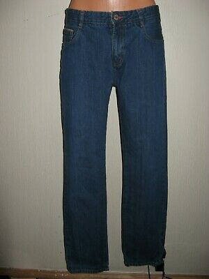 Worn Once Boys Mini Boden Classic Straight Leg Stonewashed Blue Jeans Age 14-16