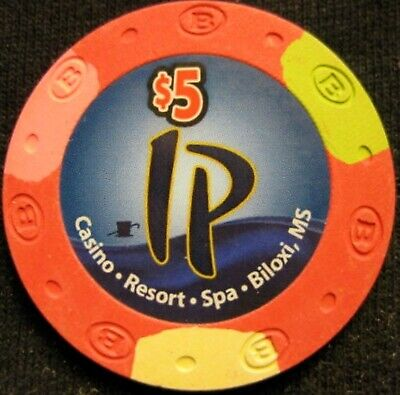 IP Hotel and Casino - $5 Casino Chip - Biloxi MISSISSIPPI