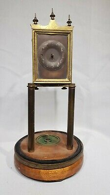 Rare Torsion, 400 Day, Anniversary Mantle Clock For Spares or Repairs