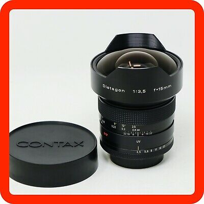 [MINT] Contax Distagon T* 15mm f3.5 Carl Zeiss Prime Lens [from Japan]