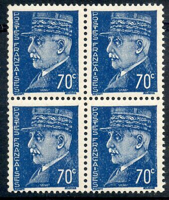Stamp / Timbre France Neuf N° 510  ** Bloc De 4 /// Petain