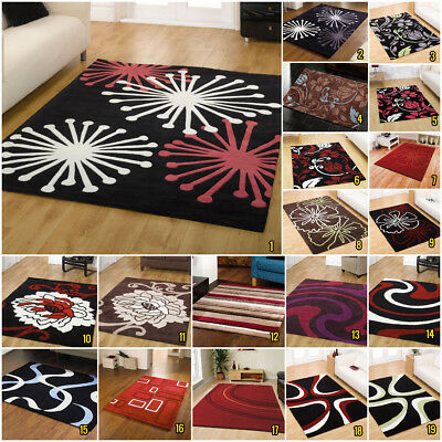 Warehouse Clearance New Modern Floral Infinite Acrylic Design Trendy Rugs Sale