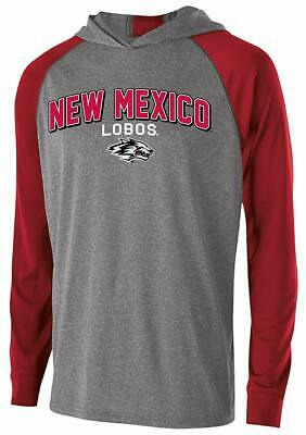 Large Carbon//Scarlet NCAA New Mexico Lobos Mens Charge Polo