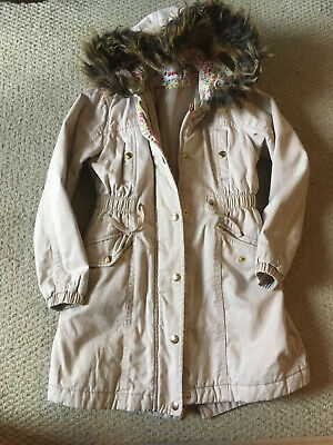 girls marks and spencer Coat Age 7-8