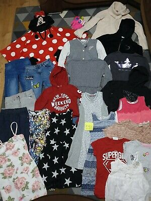 Huge Bundle Of Girls Clothes 8-9years #921 GEORGE NEXT MINNIE H&M F&F TED BAKER