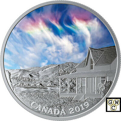 2019 'Fire Rainbow -Sky Wonders' Proof $20 Silver Coin 1oz .9999 Fine(18756)(NT)