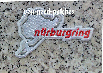 Nürburgring Sport Racing Car rRacing Brand Logo Patch sew on embroidery Aufnäher