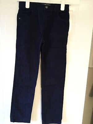 Primark Boys navy blue Canvas trousers , slim fit , Age 10/11years