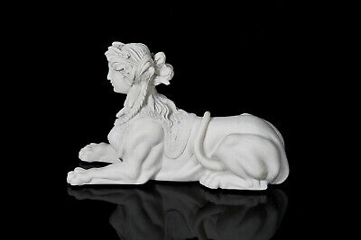 The French Sphinx, Classical sculpture, Marble, Art, Gift, Ornament.