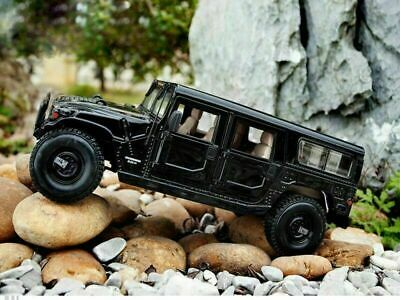 Maisto Special Edition Hummer H1 Military Black 1:18 Scale Model Diecast Car SUV
