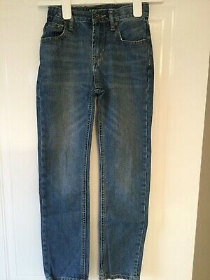 Gap Boys Denim Blue Jeans Age 10/11years Skinny fit .