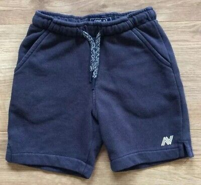 Next Boys Jersey Shorts, Navy Blue, Pull On, Cotton Blend - Age 4 Years