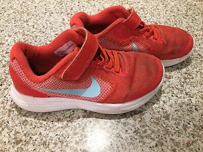 Girl's Nike Revolution 3 Trainers - pink UK Kids Size 11