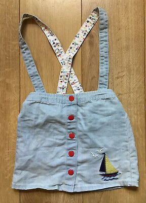 Cute Kids Dungaree Skirt by Little Bird (Jools Oliver & Mothercare), 7-8 Yrs