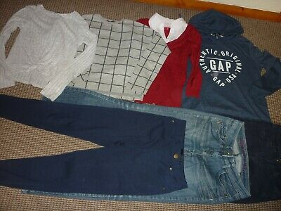 Bundle Girls Clothes age 13-14yrs Next H&M  Gold Digga  Jeans Tops Hoodie Jumper