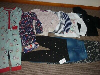Bundle Girls Clothes age 6-7yrs Joules  Blue Zoo  Dress Jeans Tops  Hoodie PJ's