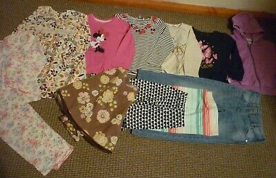 Bundle Girls Clothes age 5-6yrs Cath Kidston Next Jeans Skirt Dress Tops PJ's