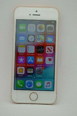 NEW Apple iPhone SE 128GB ROSE GOLD A1723 UNLOCKED GSM AT&T T-MOBILE METRO
