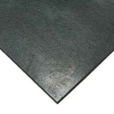 Black Rubber Sheet Nitrile 1/16 x 36 x 24 in Commercial Grade 60 Amp Buna Sheets