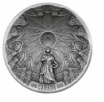 2016 Fine Silver Coin – 140th Anniversary of the Library of Parliament