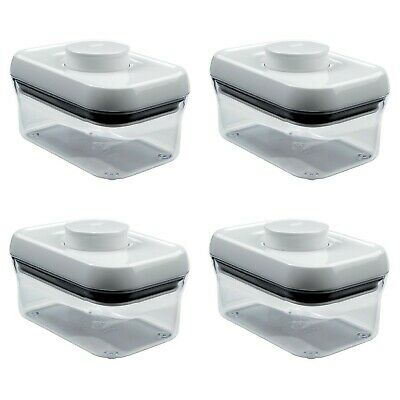 OXO Good Grips POP Rectangle 1/2-Quart Storage Container (Set of 4)