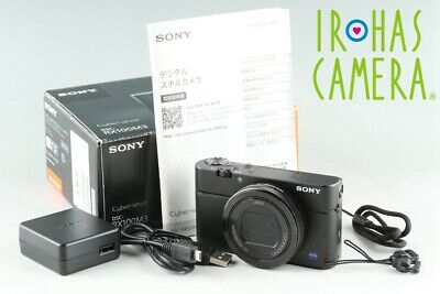 Sony Cyber-Shot DSC-RX100M3 Digital Camera With Box*Japanese Language Only#25837